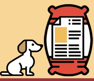 Icono Etiqueta alimento para perros