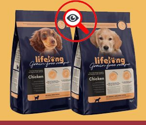 Amazon Lifelong Grain Free Cachorros